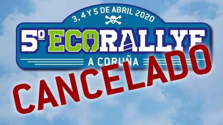 Cancelación del 5º EcoRallye A Coruña