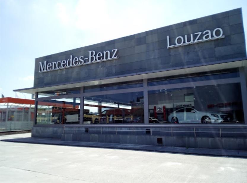 LOUZAO – MERCEDES-BENZ NO 5º ECORALLYE A CORUÑA